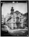 Old State House in Boston in 1890