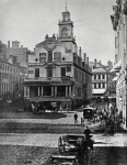 Old State House in Boston circa 1860