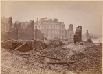 Ruins near the post office after the Great Boston Fire of 1872. Photo by James Wallace Black.