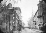 Tremont Street in Boston circa 1860