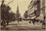 Tremont Street in Boston circa 1895
