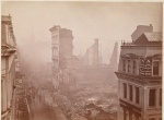Washington Street after the Great Boston Fire of 1872. Photo by James Wallace Black.
