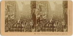 Washington Street parade of the Knights Templars in Boston in 1895