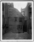 Rear of Paul Revere House in 1910