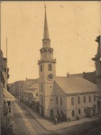 Old South Meetinghouse in Boston circa 1898