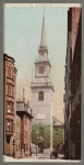 Old North Church in Boston circa 1900