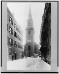 Old North Church in Boston circa 1918