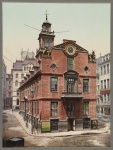 Old State House in Boston circa 1900