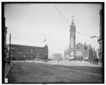 Park Square, Boston, Mass, circa 1900