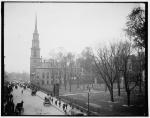 Park Street Church and Granary Burying Ground, Boston, Mass, circa 1904