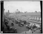 Quincy Market in Boston circa 1904