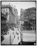 School Street, Boston, Mass, circa 1906
