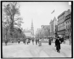 Tremont Street in Boston circa 1904