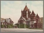 Trinity Church in Boston circa 1900
