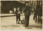 Vendor in a Boston market in 1909