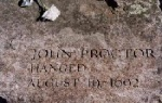 Salem Witch Trials Memorial - John Proctor