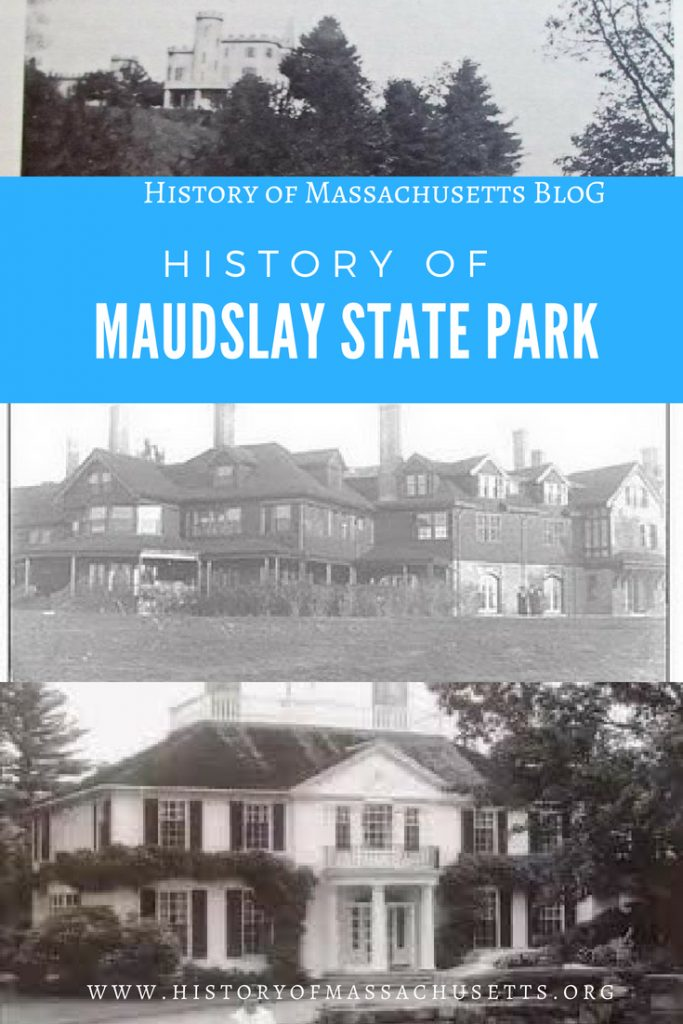History of Maudslay State Park