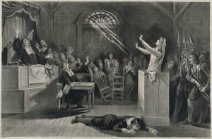 """""""The Witch, No. 1,"""" lithograph by Joseph E. Baker, published by George H. Walker & Co, circa 1892"""