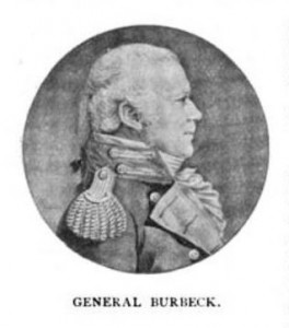 Image of General Henry Burbeck published in the American Historical Register in March 1895