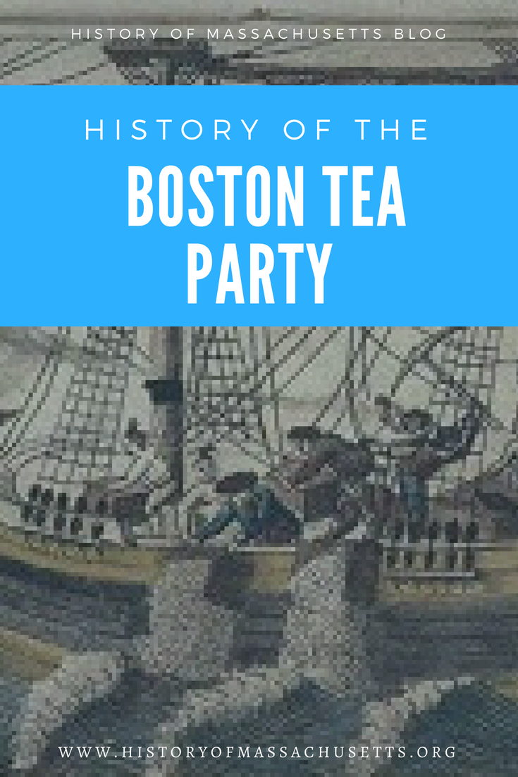 History of the Boston Tea Party