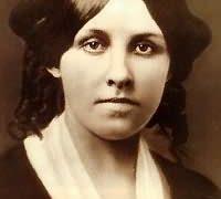 Louisa May Alcott circa 1857