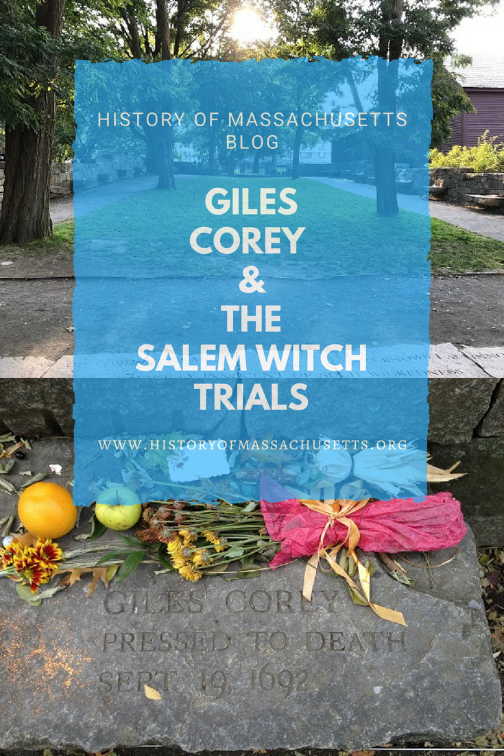 Giles Corey and the Salem Witch Trials