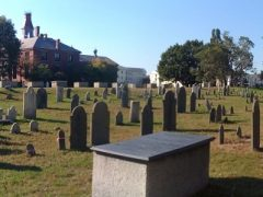 The Howard Street Cemetery, Salem, Mass, circa 2012. Photo Credit: Rebecca Brooks