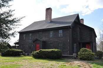 John Proctor's house at 348 Lowell Street in Peabody Ma in 2012 (although some sources indicate it may have instead been built by his son Thorndike Proctor in the 1700s)