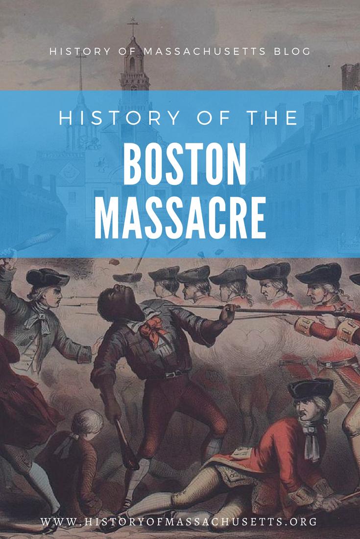History of the Boston Massacre