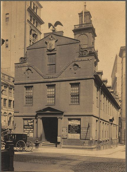 Old State House, Boston, Mass, circa 1898