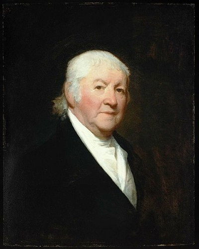 Portrait of Paul Revere by Gilbert Stuart, circa 1813