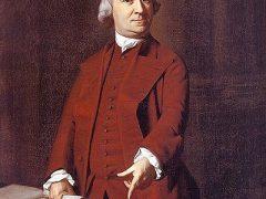 Samuel Adams, oil painting, by John Singleton Copley circa 1772