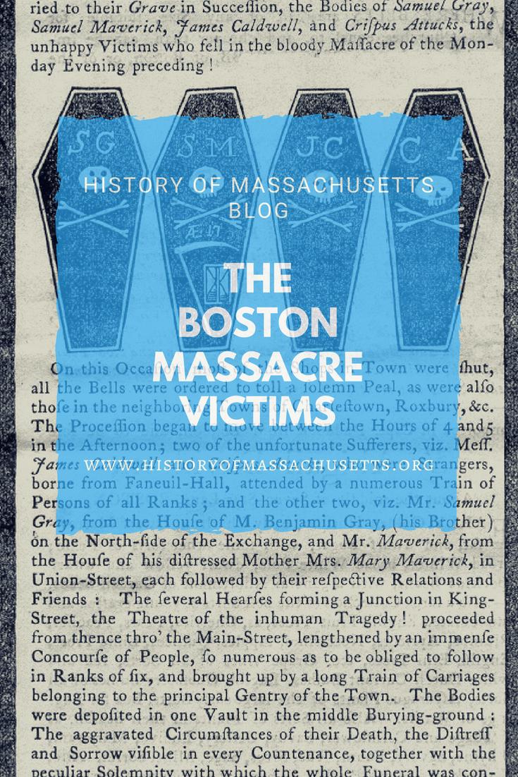 The Boston Massacre Victims