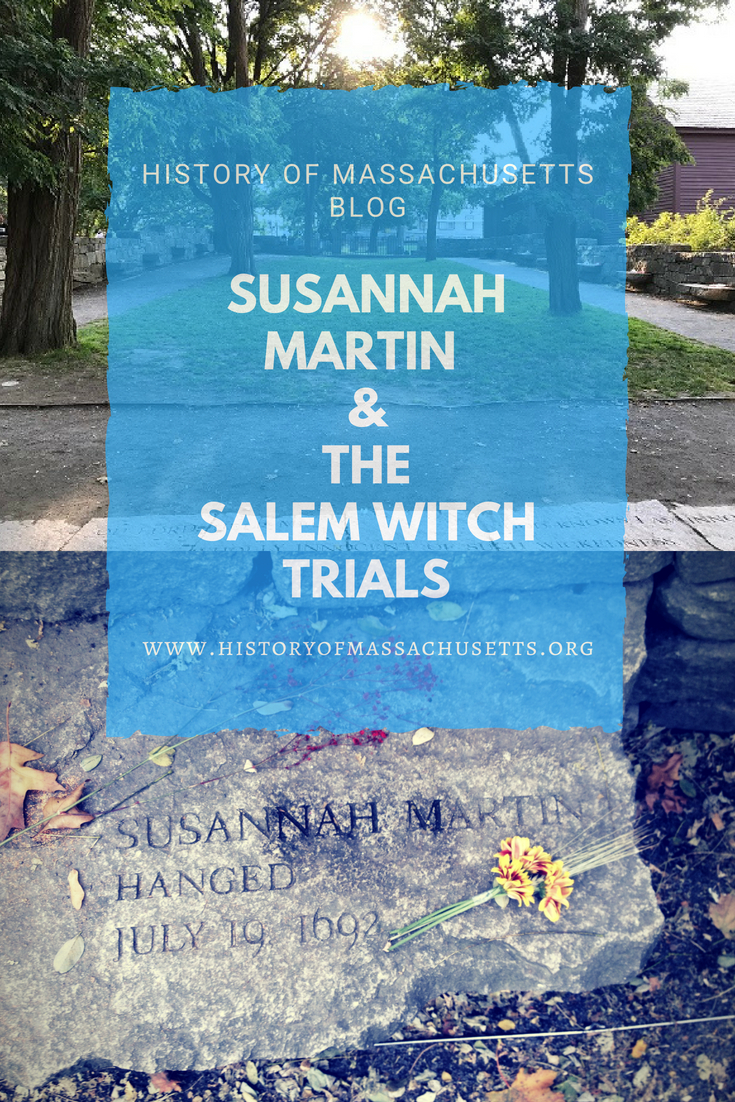Susannah Martin and the Salem Witch Trials