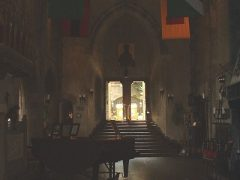 Great Hall, Hammond Castle. Gloucester, Mass, circa 2007. Photo Credit: Rebecca Brooks