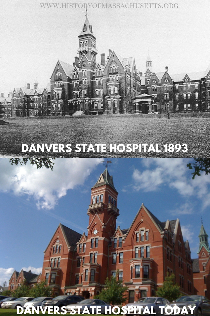 Danvers State Hospital in 1893