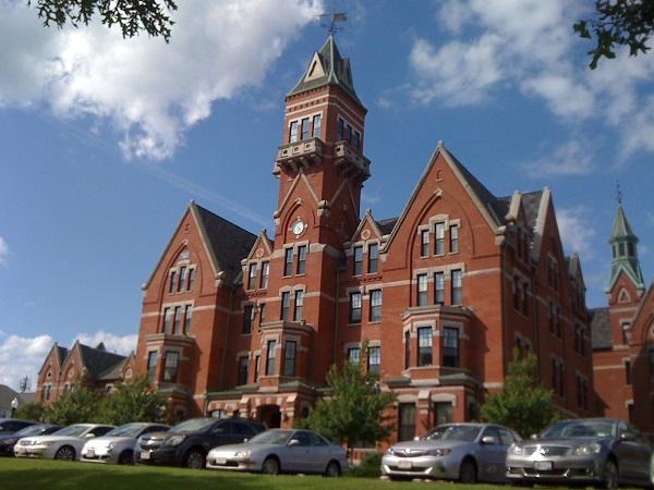 Former Danvers State Hospital, Danvers, Mass, in 2013