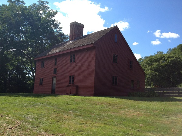 Rebecca Nurse Homestead, Danvers, Mass, circa 2013. Photo Credit: Rebecca Brooks