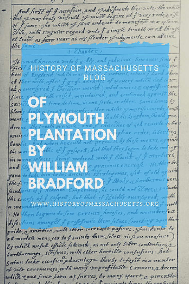 Of Plymouth Plantation by William Bradford