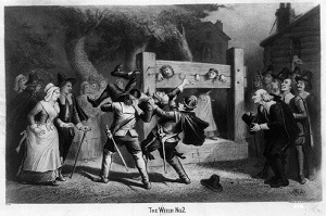 """""""The Witch, No. 2"""" lithograph by Joseph E. Baker published by Geo. H. Walker & Co circa 1892"""