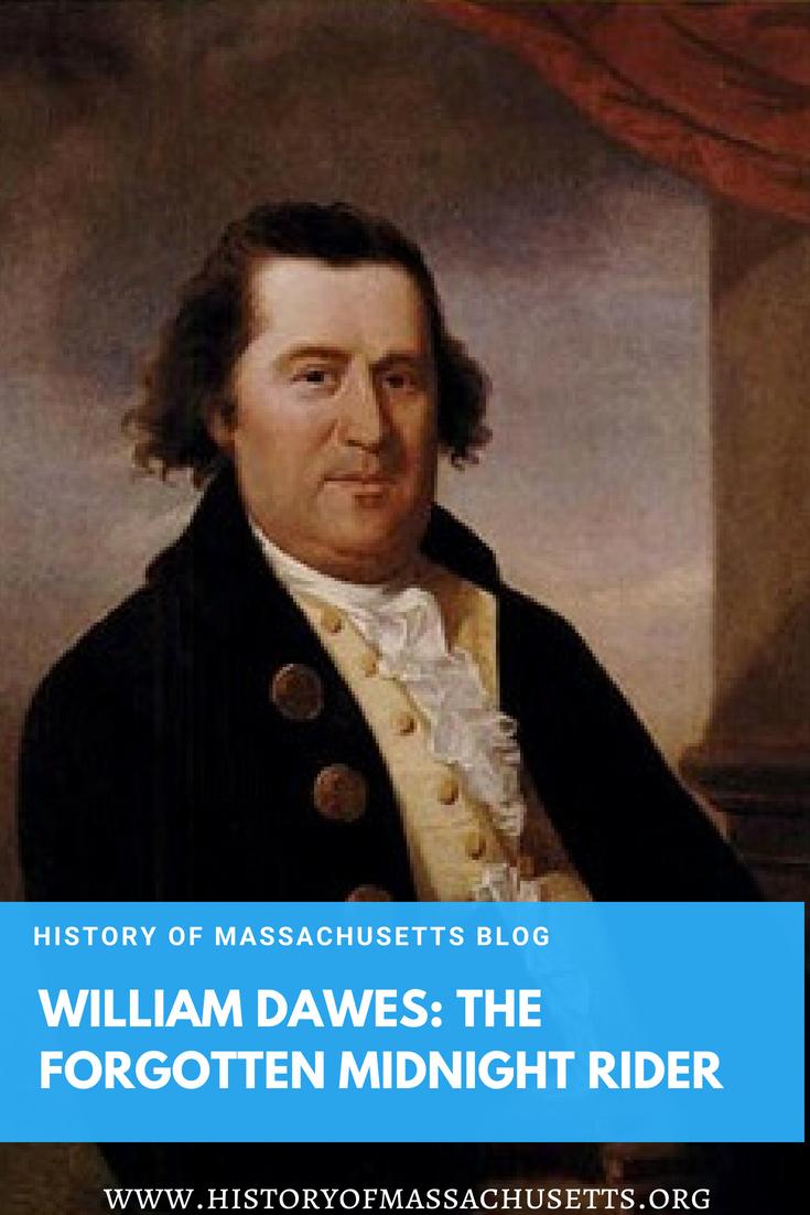 William Dawes: The Forgotten Midnight Rider