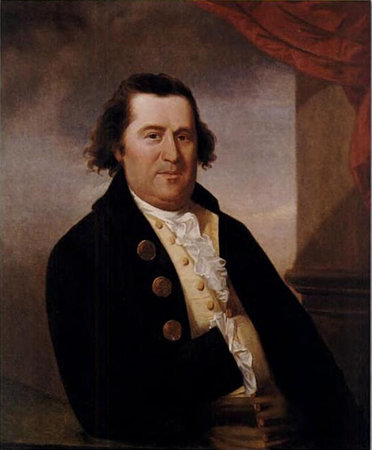William Dawes, oil painting by John Johnston, circa 1785-95