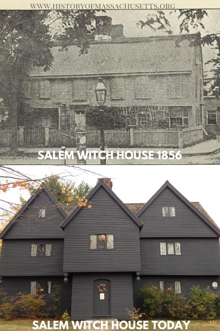 Salem Witch House 1856