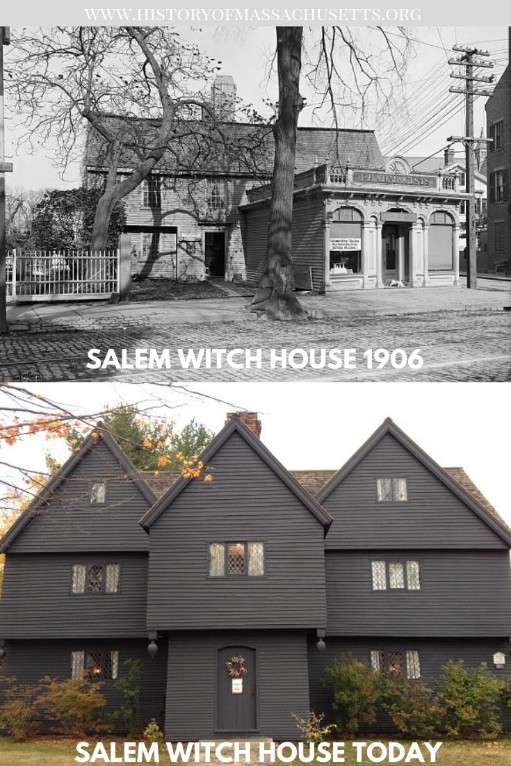 Salem Witch House 1906