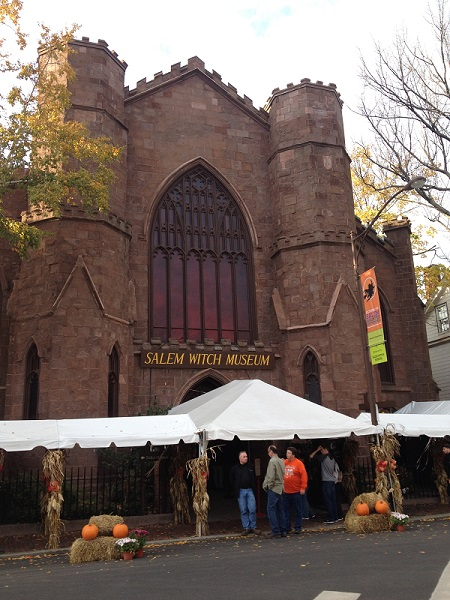 Salem Witch Museum, Salem, Mass, November 2015. Photo Credit: Rebecca Brooks