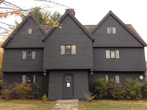 The Witch House, Salem, Mass, circa November 2015. Photo by Rebecca Brooks