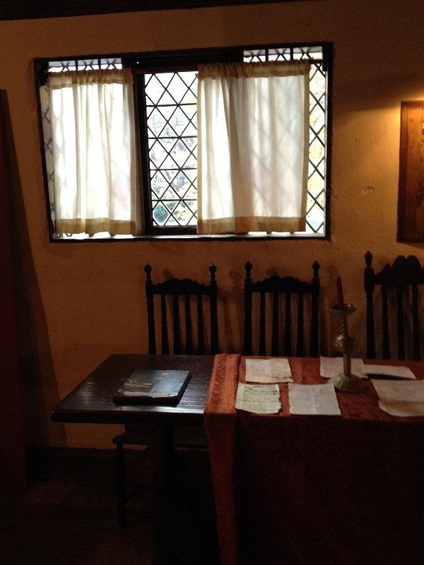 Witch House, Kitchen, Salem, Mass, November 2015. Photo Credit Rebecca Brooks