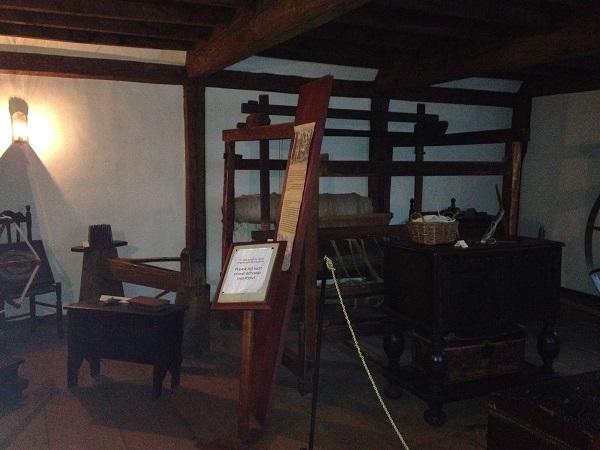 Witch House, Weaving Loom, Left Bedroom, Salem, Mass, November 2015. Photo Credit Rebecca Brooks