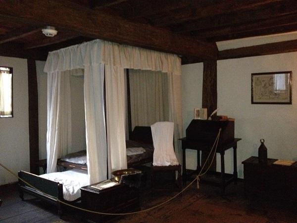 Witch House, right bedroom, Salem, Mass, November 2015. Photo Credit Rebecca Brooks