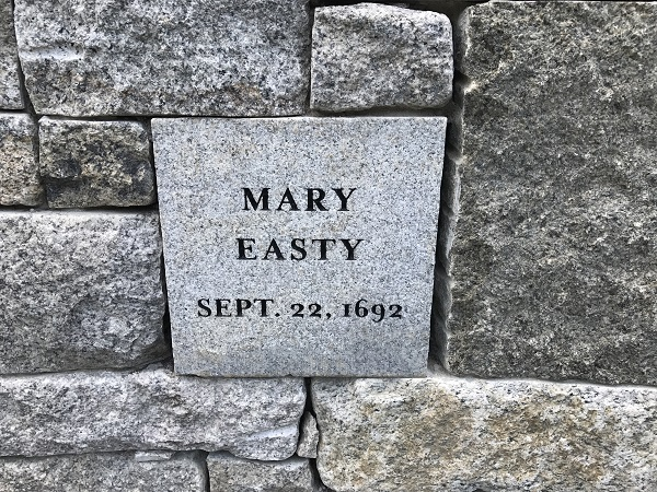 Mary Easty's Memorial Marker, Proctor's Ledge Memorial, Salem, Mass